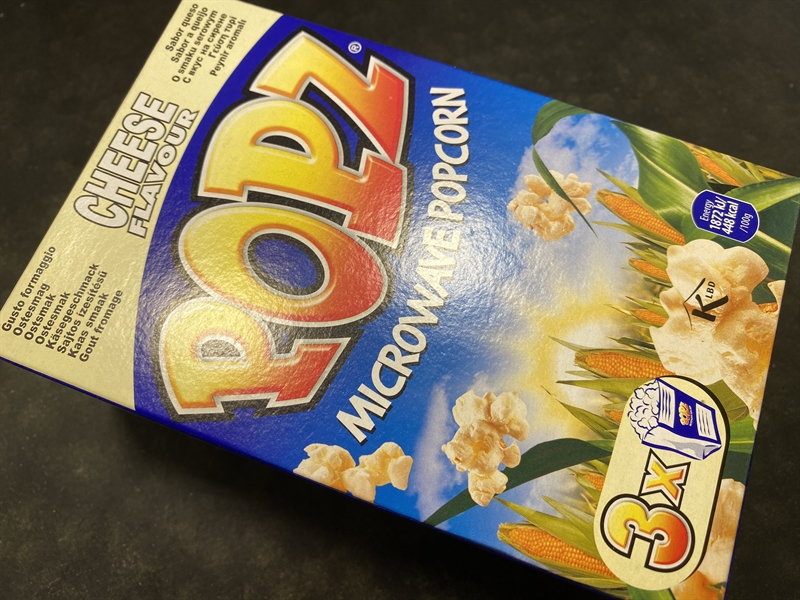 Popz Micropop Cheese